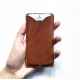Iphone case THIBAUT, brown leather