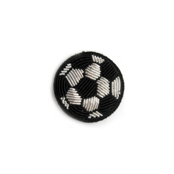"Brooch ""Ball"" black"