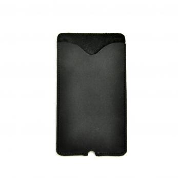 Iphone case THIBAUT, black leather