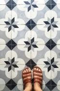 Sandales Cabourg, cuir naturel