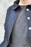 Veste Claudine, jean noir