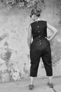 Combinaison, jean noir