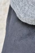 Pantalon sarouel, velours noir