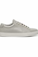 Sneakers, grey leather