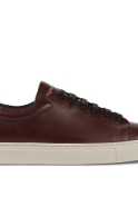Sneakers, wine leather