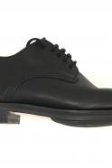 Derby shoes, black calf