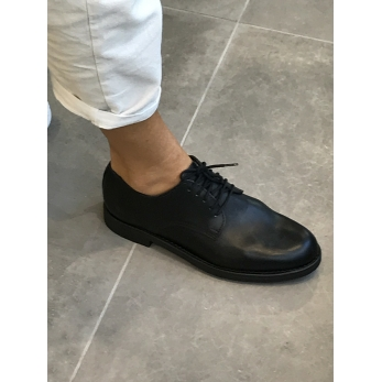 Derby shoes, black calf