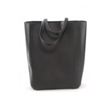 Bag Solène, black leather