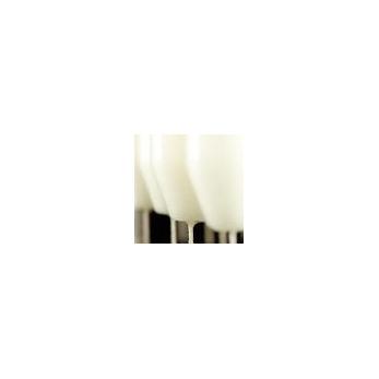 Bougie chandelle blanche