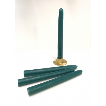 6 candles, green