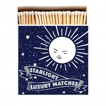 "Square matchbox ""Starlight"""