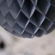 Grey honeycomb ball