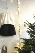 Jupon skirt for kids, black tulle