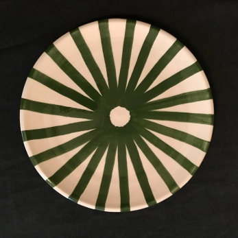 Ray plate green