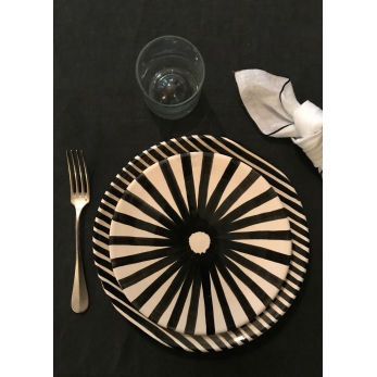 Ray plate black