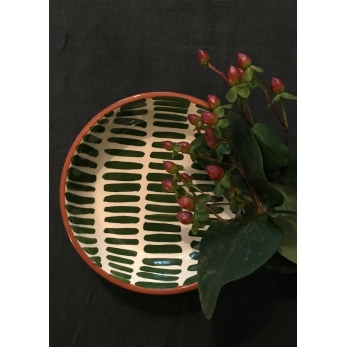 Dash low bowl, green