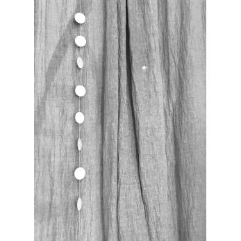 Guirlande Confettis, blanc