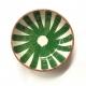 """Small bowl """"ray"""" green"""
