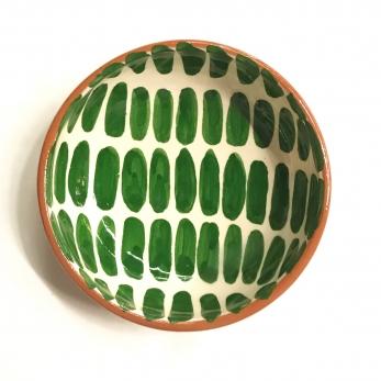 "Small bowl ""dash"" green"