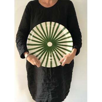 Ray XXL plate green