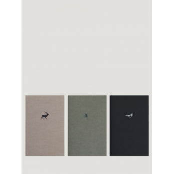 "3 soft cover notebooks ""Forest"""
