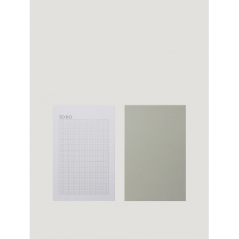 "2 soft cover A5 notebooks ""Letters"""