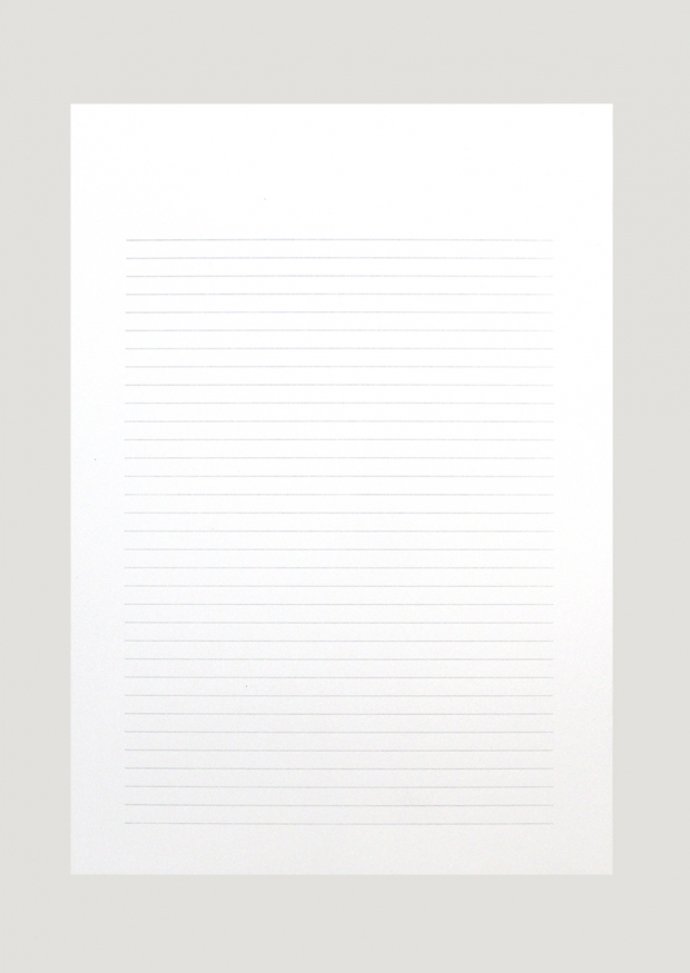 """2 soft cover A5 notebooks """"Letters"""""""