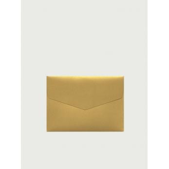 5 enveloppes C6 dorées