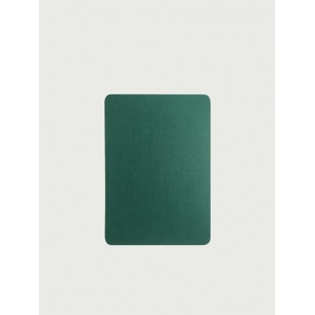 Pack of 5 rounded corner cards, Pine forest