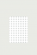 Pack of 5 rounded corner cards, Flake