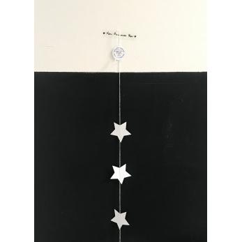 Garland Stars, white