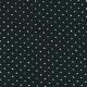 Chemise à plis manches longues, coton ajouré noir