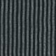 Robe évasée manches 3/4, col carré, lin rayures sombres