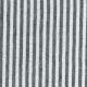 Long sleeves blouse squared neck, light stripes linen