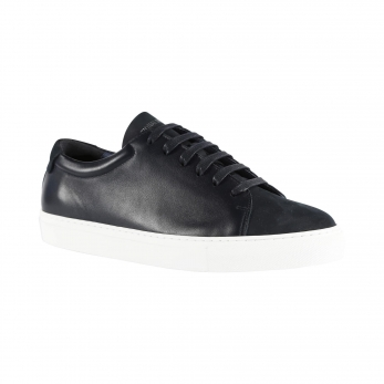 Sneakersfor men, navy nubuck