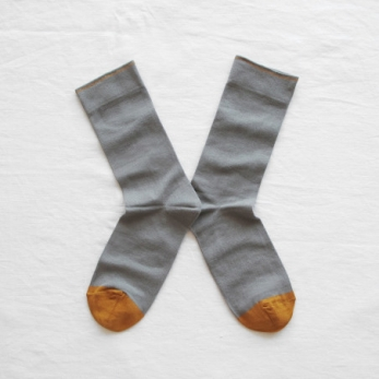 """Plain"" socks, Elephant grey"