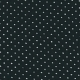 Long simple bow dress, black cotton
