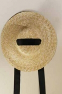 Basic hat, natural straw
