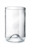 "Pack of 4 transparent ""Long drink"" glasses ""Q de bouteilles"""