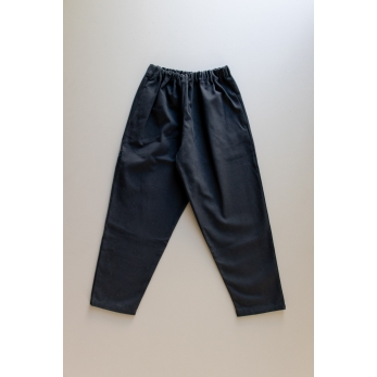 Long trousers, black denim