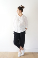 Mixt shirt, white linen