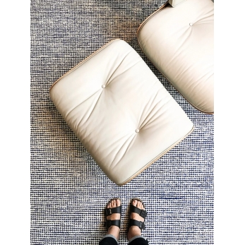 tapis pipoca bleu