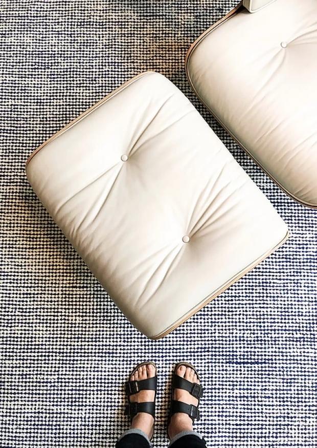 pipoca rug, blue
