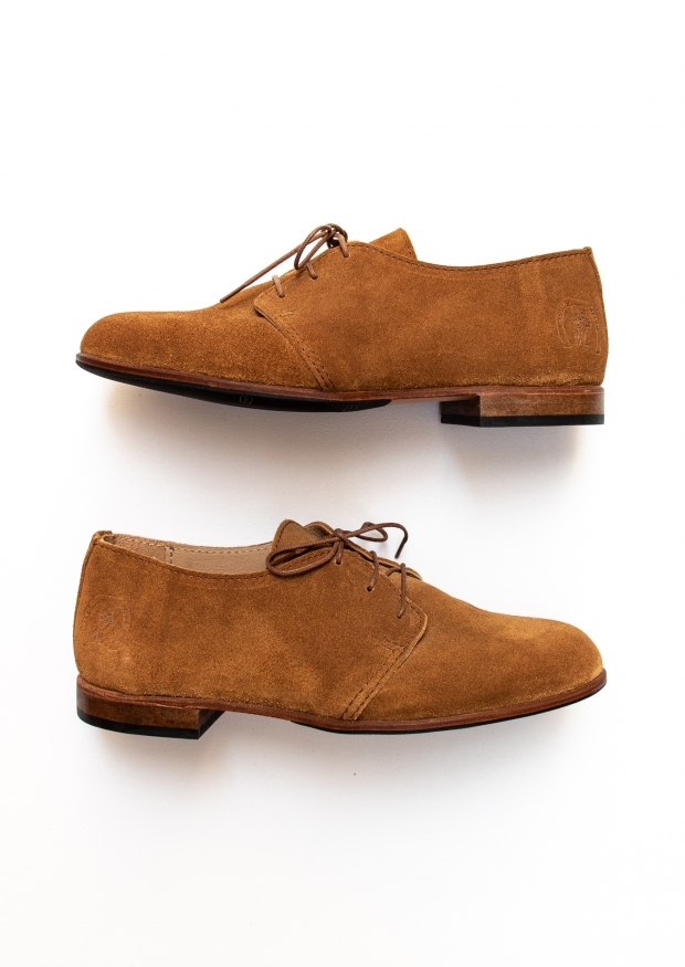 Georges shoes, calf suede