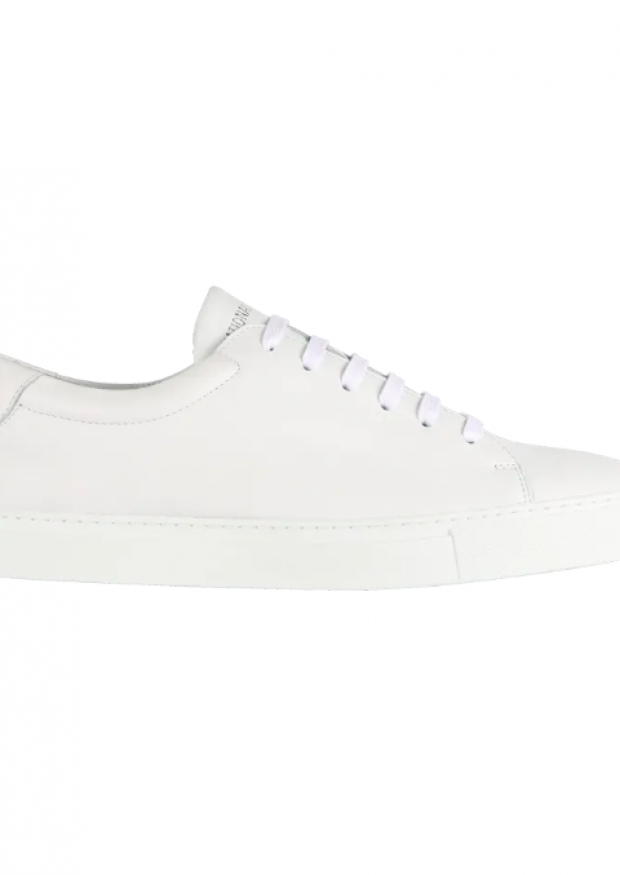 Sneakers for men, white leather