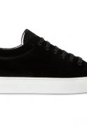 Baskets, velours noir