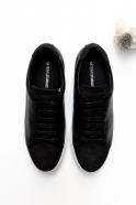 Baskets pour homme, nubuck noir