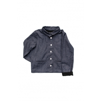 Jacket, blue denim