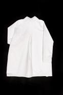 Manteau, jean blanc