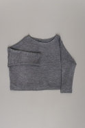 Winter 19 sweater, light grey heavy jersey